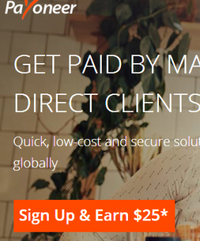How to apply for payoneer mastercard (signup and earn page)