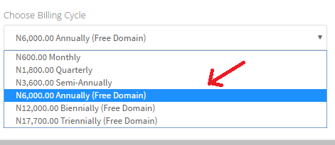 How to get a free Domain for life with every hosting account on whogohost