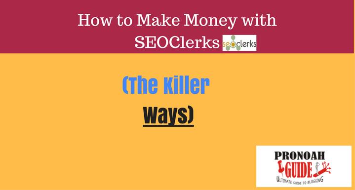 Make money with seoclerks