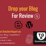 Drop your blog for review