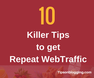 Repeat web traffic