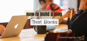 Build a Blog that banks