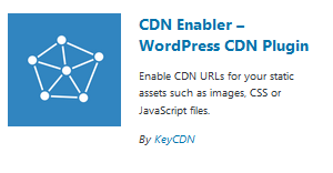 KeyCDN setup for WordPress