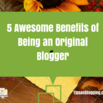 original blogger benefits