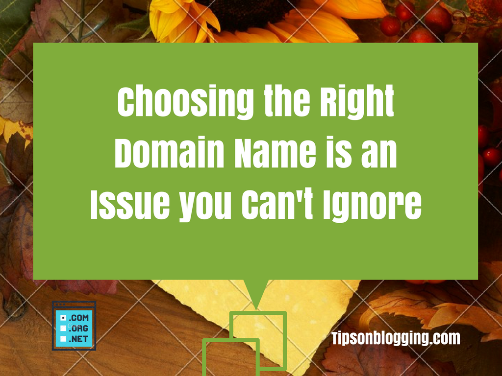 choosing a good domain name