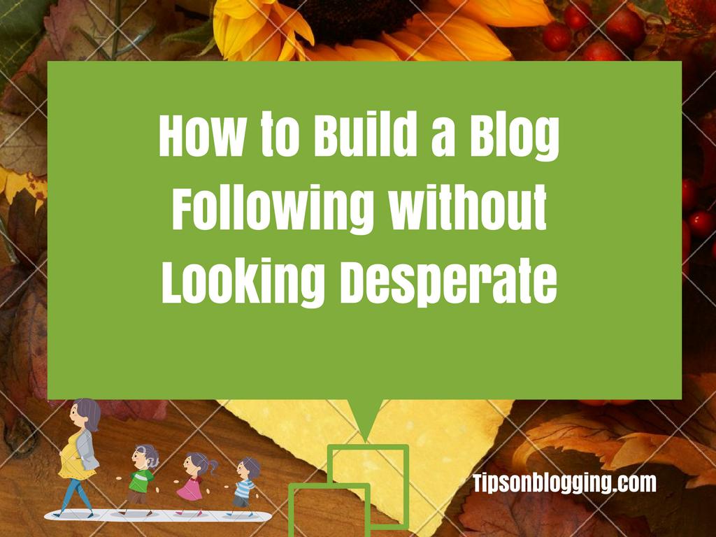 build blog following