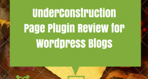 underconstruction page wordpress plugin
