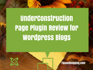underconstruction page wordpress plugin