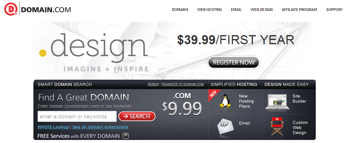 domain.com cheap domain registrar