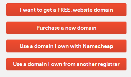 use a new domain or not