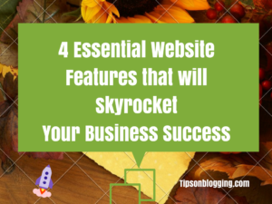 essential website features