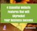 essential website features