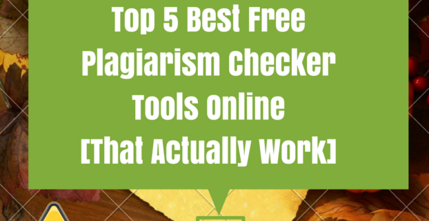 Free Plagiarism Checker tools online