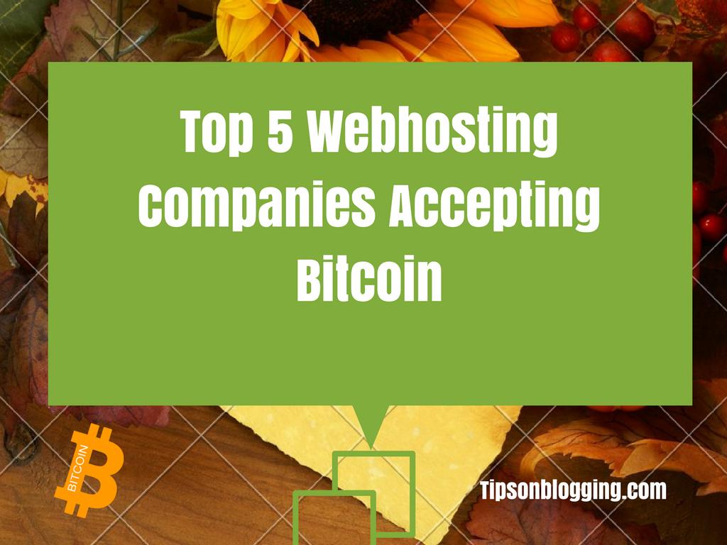 bitcoin webhosting companies