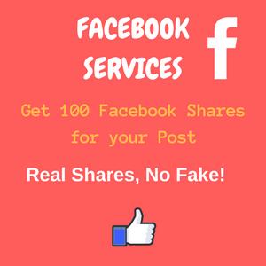 100 facebook shares