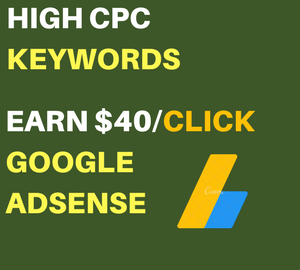 High CPC Adsense Keywords 2018