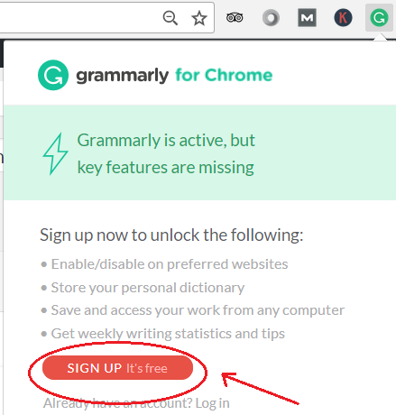 signup for grammarly referral program