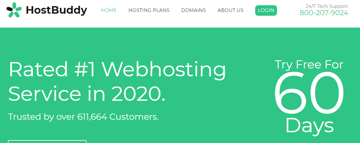 Free 60 Day Trial Web Hosting hostbuddy